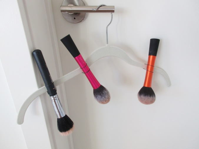 hack drying brushes