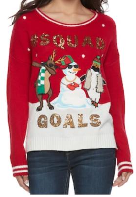 https://www.kohls.com/product/prd-2976507/juniors-its-our-time-squad-goals-ugly-christmas-sweater.jsp?ci_mcc=ci&utm_campaign=JUNIOR%20SWEATERS&utm_medium=CSE&utm_source=google&utm_product=74004424&CID=shopping15&utm_campaignid=596849177&gclid=Cj0KCQiAgZTRBRDmARIsAJvVWAsxGhJg17mgpqd88P19FZ4SK-_asyqLMJVUHxFaA1TDQwP3Ps8limkaAsx2EALw_wcB&gclsrc=aw.ds&dclid=CIWj_abJ8dcCFcuMYgodoqAPkg